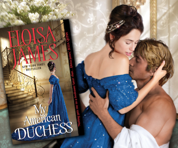 ELOISA JAMES MY AMERICAN DUCHESS