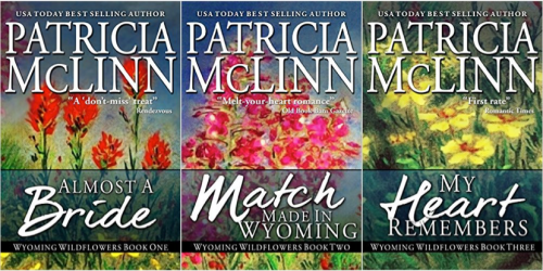 If you enjoy reading about strong women and the men who love them, you'll love this acclaimed Wyoming Wildflowers collection – a trilogy of novels with touches of humor.